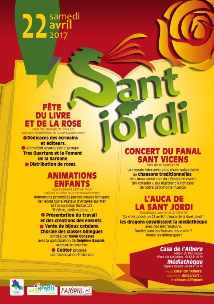 argeles-sur-mer-fetera-la-sant-jordi-le-22-avril