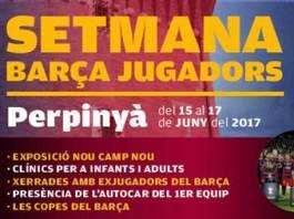 Les anciens joueurs du Barça organisent la Setmana Barça Jugadors à Perpignan