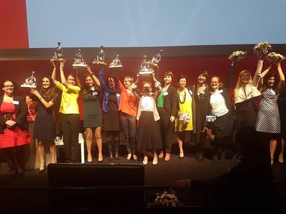 Deuxième cérémonie des Trophées « Les Femmes de l'économie » : Carole Gleyzes, du centre hospitalier de Thuir, récompensée !