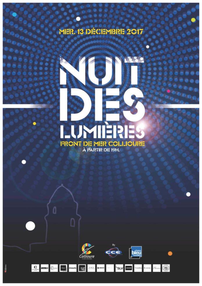 « La nuit des Lumières » qui aura lieu le 13 décembre à 19h à Collioure