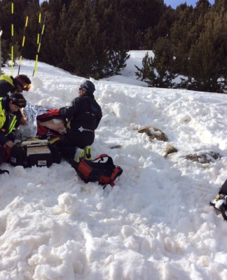 les-angles-exercice-de-secours-sur-avalanche