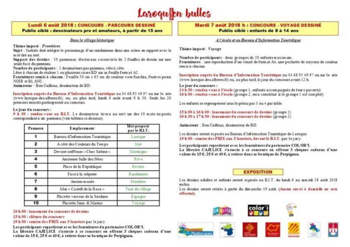 festival-bd-et-mangas-laroquen-bulles-du-6-au-8-aout