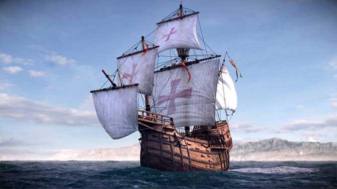La Nao Santa Maria, réplique du bateau de Christophe Colomb, à Port-Vendres du 31 juillet au 13 août | Le Journal Catalan