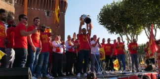 Les Dragons Catalans, champions... d'Angleterre !