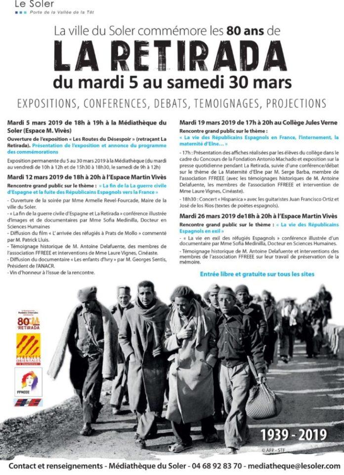 la-ville-du-soler-commemore-les-80-ans-de-la-retirada-du-5-au-30-mars-2019