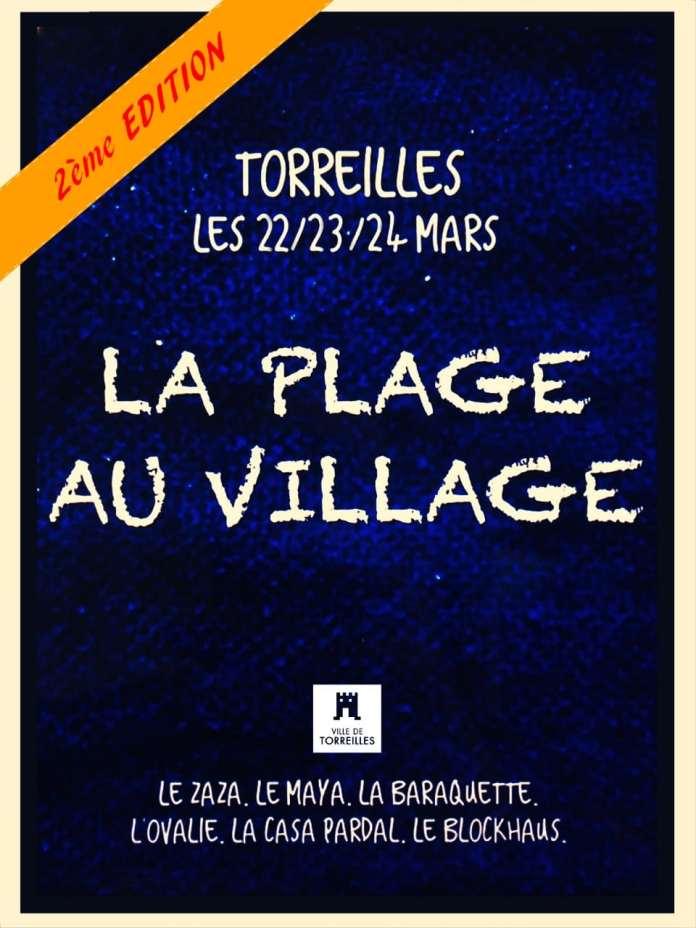 la Plage au Village, le retour !