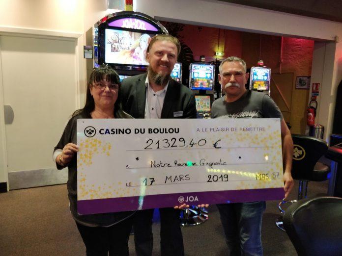 plus de 21 000 € remportés au Casino JOA du Boulou