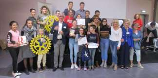"""Le Rotary de Canet-en-Roussillon a organisé la 3ème édition de la """"Dictée"""" et a triplé la recette au profit des Associations de lutte contre l'illettrisme"""