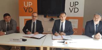 Signature de convention entre la Chambre départementale des notaires des Pyrénées-Orientales et l'université de Perpignan