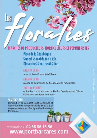 Les Floralies sont de retour au Barcarès