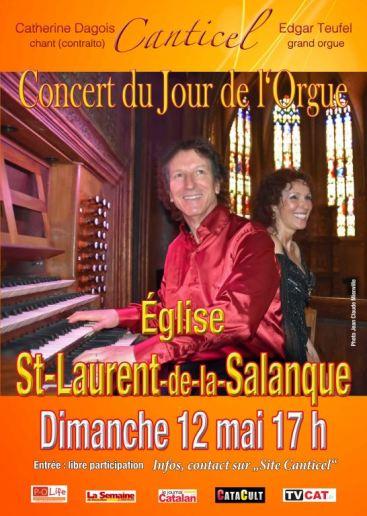 Grand concert de la Journée Européenne de l'Orgue, Canticel « Autour du Stabat Mater »