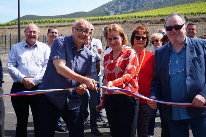 Agly-Fenouillèdes inauguration de la Zone d'Activités Économiques
