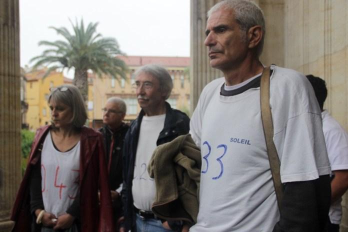 Dépôt de plainte de la Campagne Glyphosate 66 à Perpignan