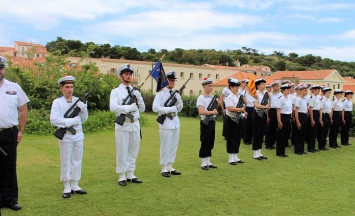la Marine Nationale jette l'ancre dans le jardin du Dôme !