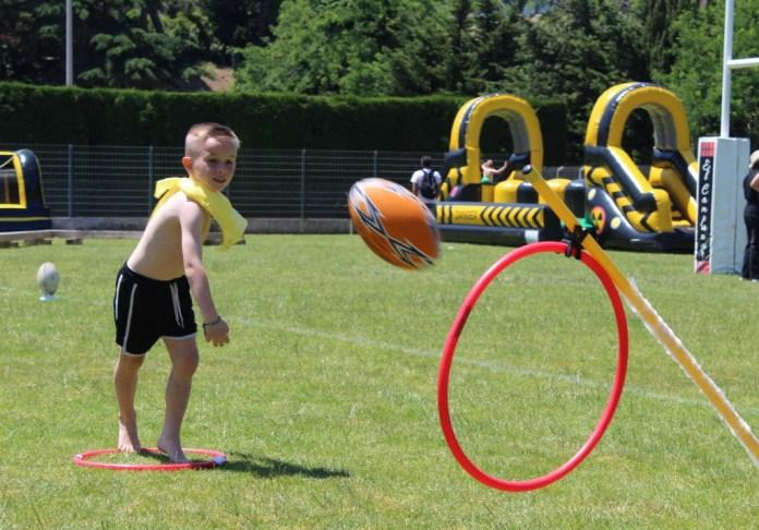 Le stade en folie, le bonheur de pratiquer un sport !
