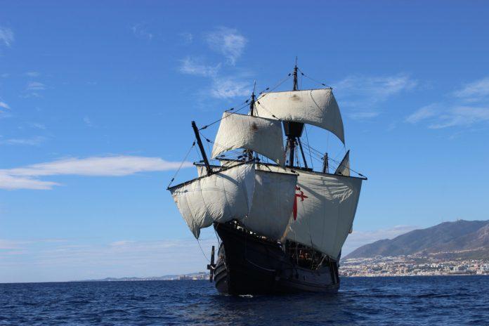 La caraque de Magellan, la Nao victoria arrive à Port-Vendres