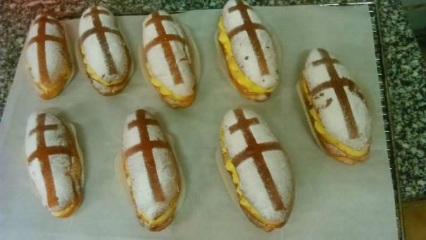 Résultat des brioches de Mathieu, patissier à la boulangerie Richard de Blamont dans le 54450