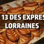 Top 13 des expressions typiques en Lorraine