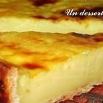 La recette Lorraine de la tarte au maugin