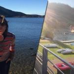 Alexandra Lamy pose ses valises dans les Vosges