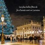 Le  sapin de Noël et les villages de la Saint Nicolas arrivent à Nancy