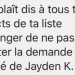 """HOAX : """"Jayden K. Smith"""" ne piratera pas votre compte si vous l'acceptez en ami"""
