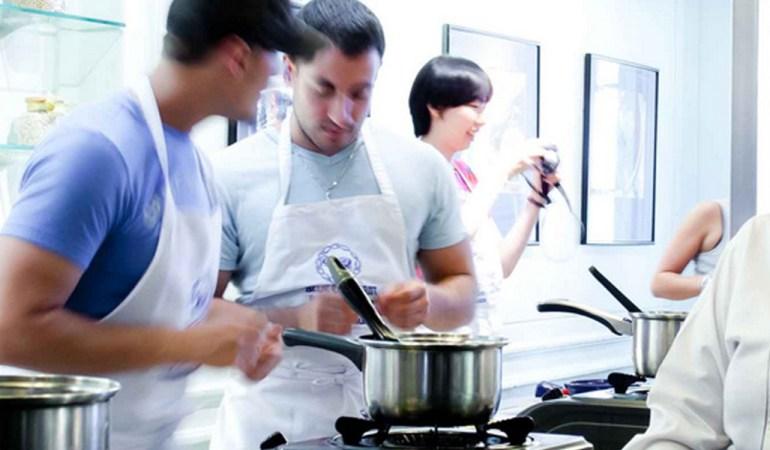 Cours de cuisine au Blue Elephant