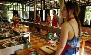salle cours de cuisine thailande