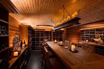 La superbe cave à vin du Constance Belle Mare