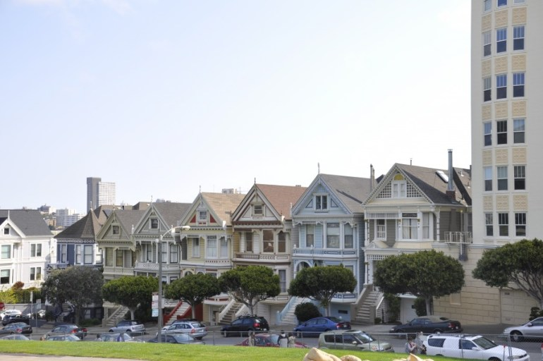 Les Painted Ladies de San Francisco, mondialement connues