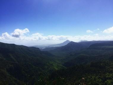 La vue époustouflante du parc national des gorges de Rivière Noire