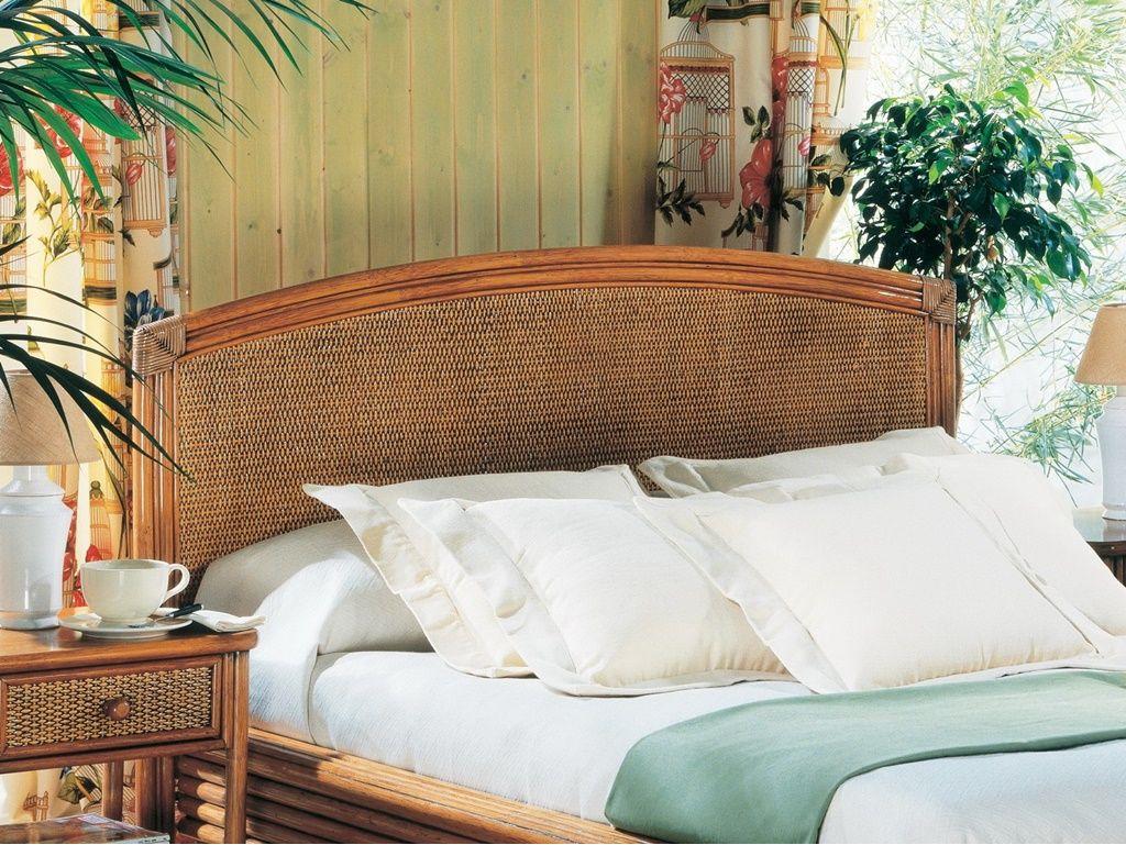 tete de lit soria en rotin haut de gamme meuble pour la chambre a coucher le monde du lit