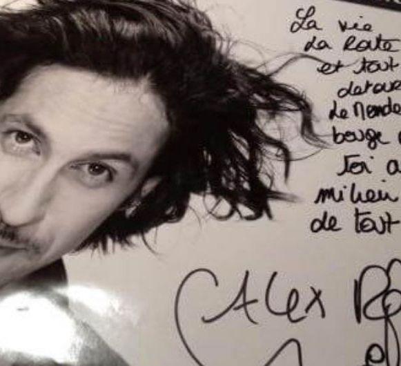 Alex RenarT affiche, Sens, 30 janvier 2015 © Cynthia