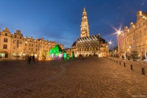 La Place des Héros d'Arras à Noël