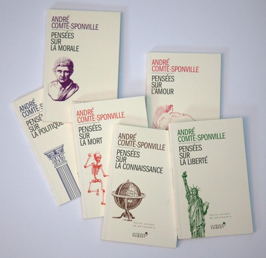 André Comte-Sponville - Petits carnets de philosophie - La librairie Vuibert