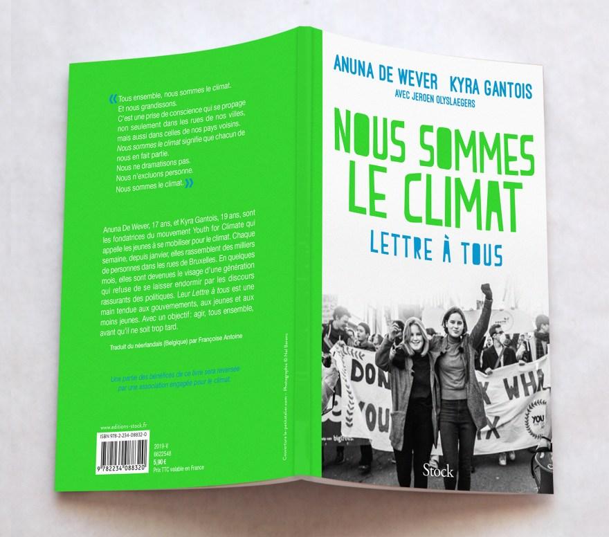 Anuna de Wever et Kyra Gantois - Nous sommes le climat - Stock