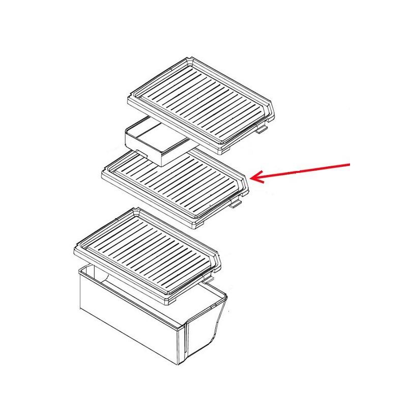 clayette plaque en verre pour refrigerateur congelateur fr 521nt daewoo le sav com