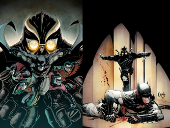 Deux covers pour Night of the Owls et The Court of Owls