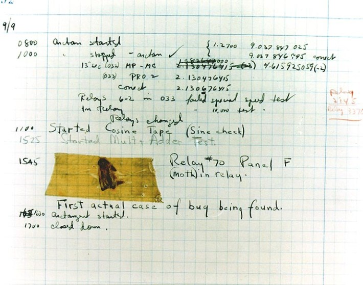 first-bug-in-history