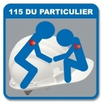 Logo 115 Du Particulier - Association d'aide aux sans abri et aux plus démunis