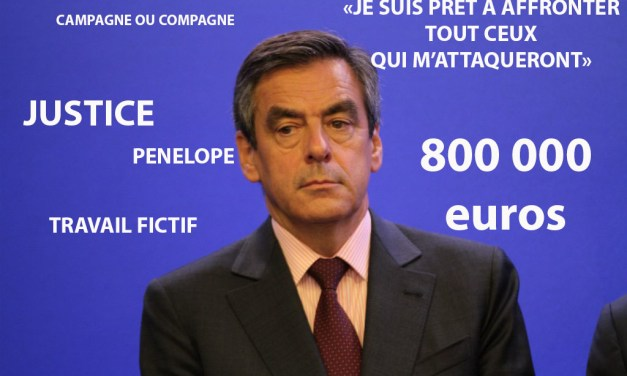 Data Visualisation : François Fillon dans la tourmente