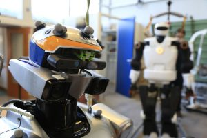Les robots humanoïdes du CNRS