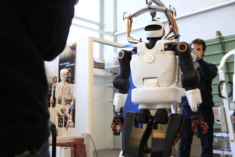 premier robot humanoïde nouvelle génération