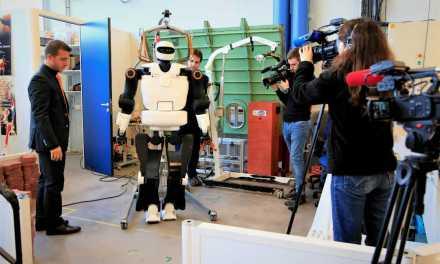 Robot : le CNRS dévoile son nouveau bébé