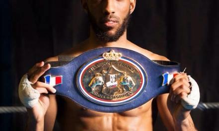 Boxe : le toulousain Mimoune à un match d'une ceinture mondiale
