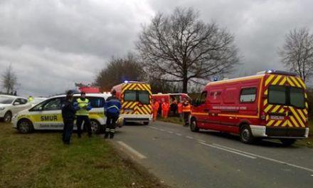 Accident d'un car scolaire dans le Gers : Deux enfants héliportés à Purpan