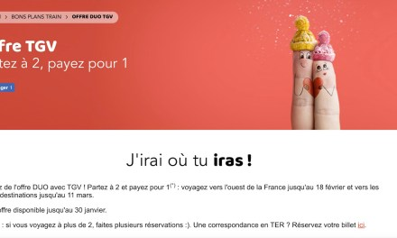 Pour la Saint-Valentin, la SNCF propose deux billets pour le prix d'un
