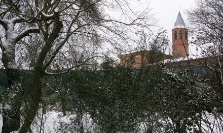 La neige réjouit les Toulousains