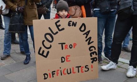 À Toulouse, les enseignants du 1er degré se mobilisent pour plus de moyens