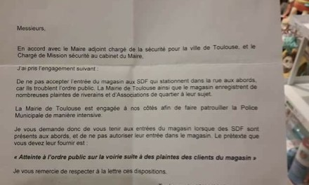 A Toulouse, le Monoprix refoulait les sans domiciles fixes